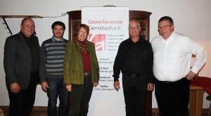 Neu gewählter Vorstand 2013